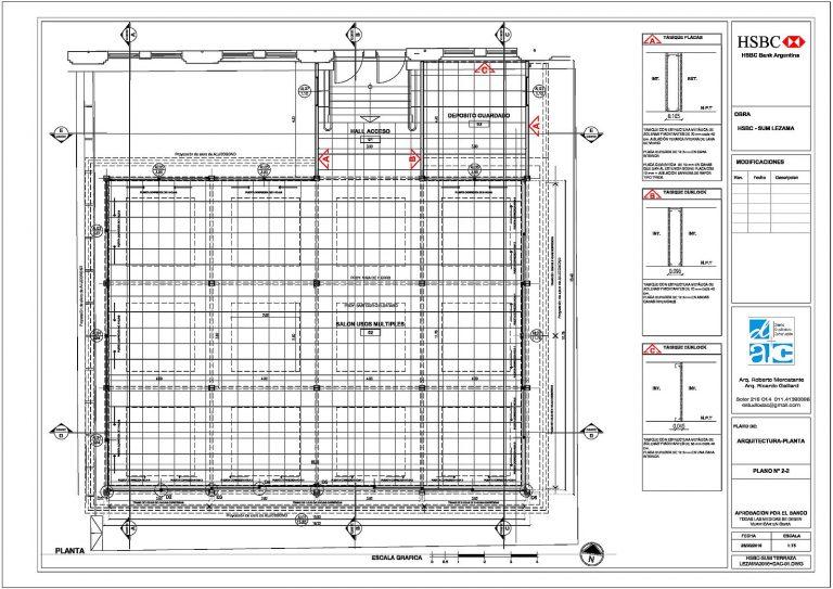 2-2 HSBC-SUM LEZAMA- ARQUITECTURA – PLANTA